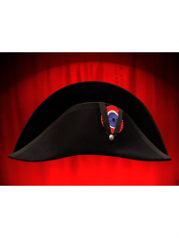 BLACK COCKED HAT - BICORN NAPOLEON