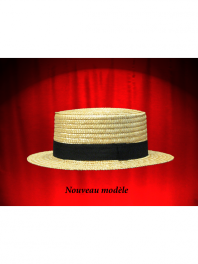 THE STRAW BOATER HAT OF BEGINNING OF CENTURY