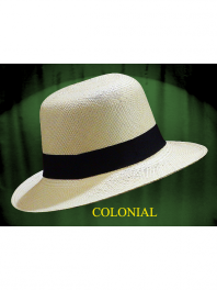THE COLONIAL PANAMA HAT