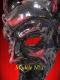 VENETIAN MASK OF RED DEVIL PAPER MACHE