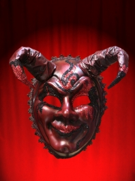 MASQUES VENISE DIABLE ROUGE STEFAN