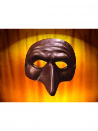 Mascara de cuero Comedia del arte PANTALONE