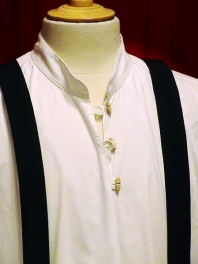 OLD SHIRT with WOOD BUTTONS