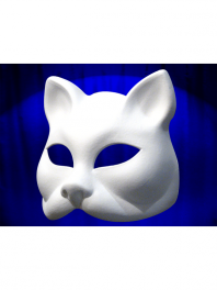 MASQUES CHAT BLANC DE VENISE