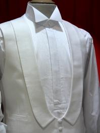 Camisa HOMEM AVÔ PLASTRON e COLO AMOVÍVEL 1900