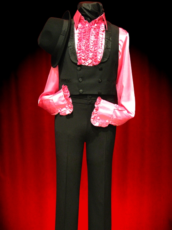 Black Spanish Waistcoat Or Suit Vest
