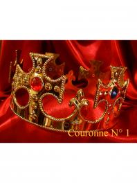 COURONNES ROI - TIARE DOREES