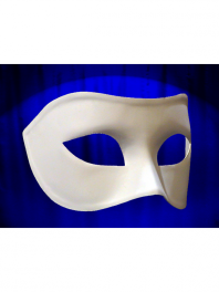 MASK VENICE COLOMBINA WHITE