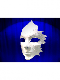 MASK VENICE  LEAF WHITE