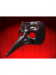 MASK VENICE LONG NOSE PLAIN CAPITANO