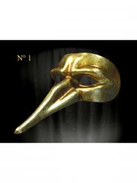 Mascaras DORADAS de Venecia COMEDIA DEL ARTE