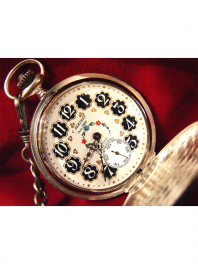 POCKET-WATCH MECHANICAL CUCKOO