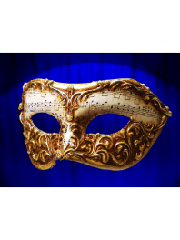 VENETIAN EYES MASKS FOR MAN COLOMBINA MUSIC