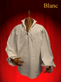 CHEMISE THEATRE A COL HOMME