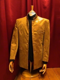 JACKET GRAND FATHER IN VELVET CORDUROY