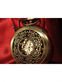 POCKET WATCH LACE SKELETON TNG