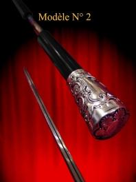 Canne épée MYLORD PLAT D'ELEGANCE