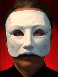 FACE HALF MASK WHITE for MEN