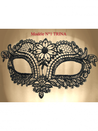 MASK COLOMBINA OF VENICE IN LACE BURANO