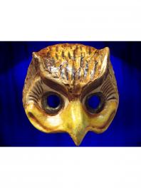 Maske EULE PAPPMACHE