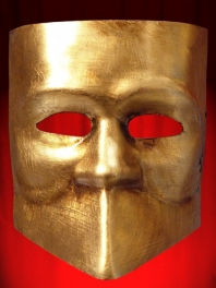 BAUTA MASKS in the SHEET GOLD or SILVER