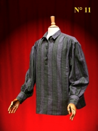 CHEMISE HOMME PAYSANNE RAYEE
