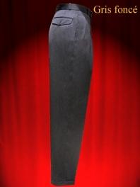 Pantalon be bop 1930-1950 taille haute