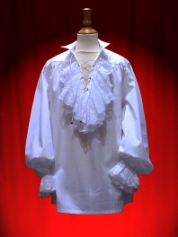 SHIRT JABOT LACE FOR CHILDREN