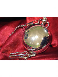 POCKET WATCH SMOOTH STEEL TNG