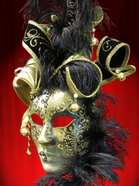 JOLLY ARMONY FACE VENETIAN MASK