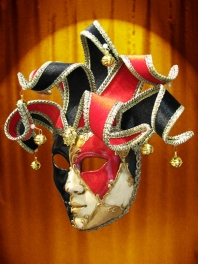 VENICE MASK JOLLY QUADRI LAG