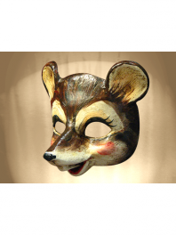 MOUSE or RAT MASK PAPER MACHE