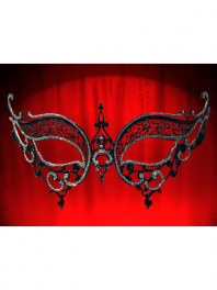 "VENETIAN MASK FILIGREE IN METAL ""BACIO BRILL"""