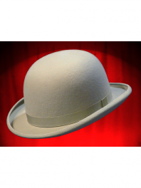 REAL BOWLER DERBY HAT ALSACE