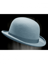 REAL BOWLER DERBY HAT HORIZON