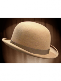 REAL BOWLER DERBY HAT MOUFLON