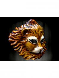 MASQUE de LION en PAPIER MACHE fait à VENISE ED