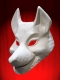 WOLF mask for LITTLE RED RIDING HOOD