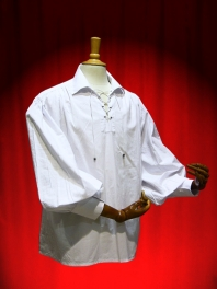 MAN SHIRT PIRATE COTTON