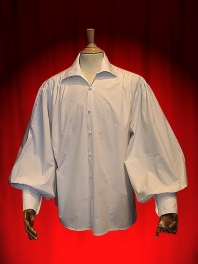 CAMISA ROMANTICA BOUTONNABLE