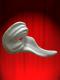 Masques Comédia en papier mâché blanc à peindre - Zanni ridé