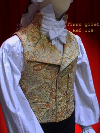 GILET EPOQUE EMPIRE, REVOLUTION ou NAPOLEON